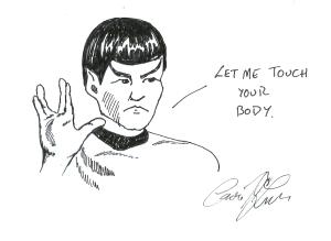 Spok illustration
